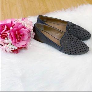 Franco Sarto Zerbino Perforated Loafer Flats 7